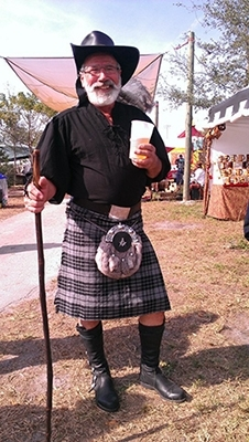A Wool Blend Traditional Kilt - Special Order